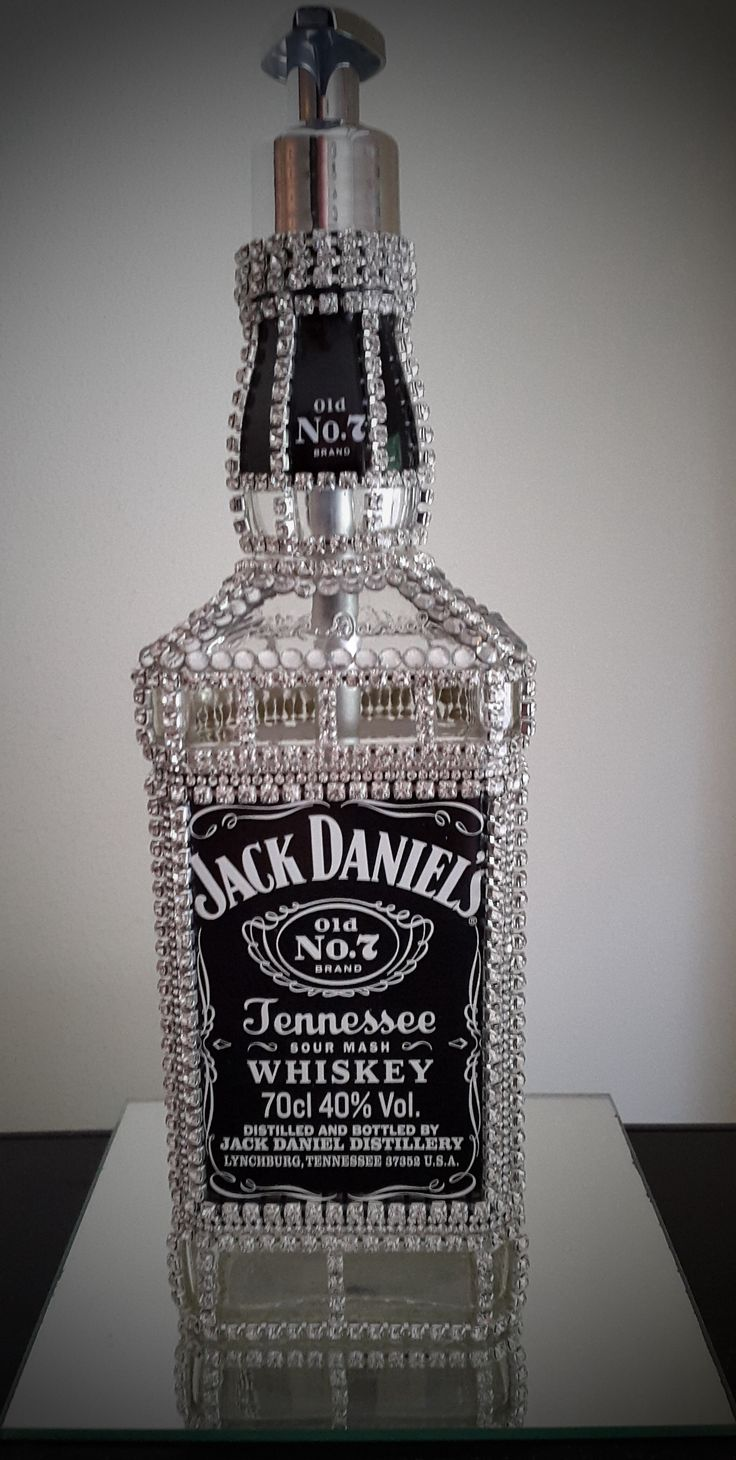 Jack Daniels home made soap dispenser