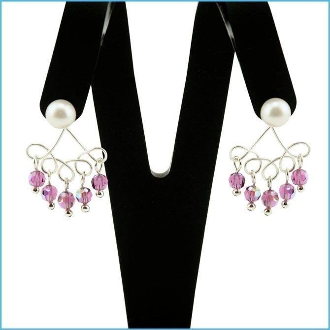 74 best DIY Chandelier Earrings & More images on Pinterest ...