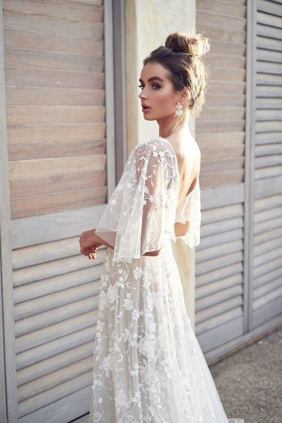white lace dress #weddingdress