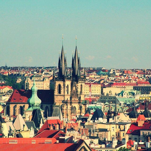 Imágenes del mundo: Hermosa vista de la ciudad de Praga (República Checa)... #cibervlachoimagenesdelmundo  Visita mi Blog: http://cibervlacho.blogspot.com