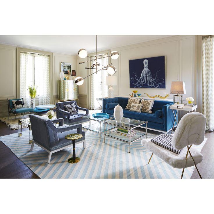 a parisian parlour for the chic jet setter in you jonathan adler design - Jonathan Adler Living Room