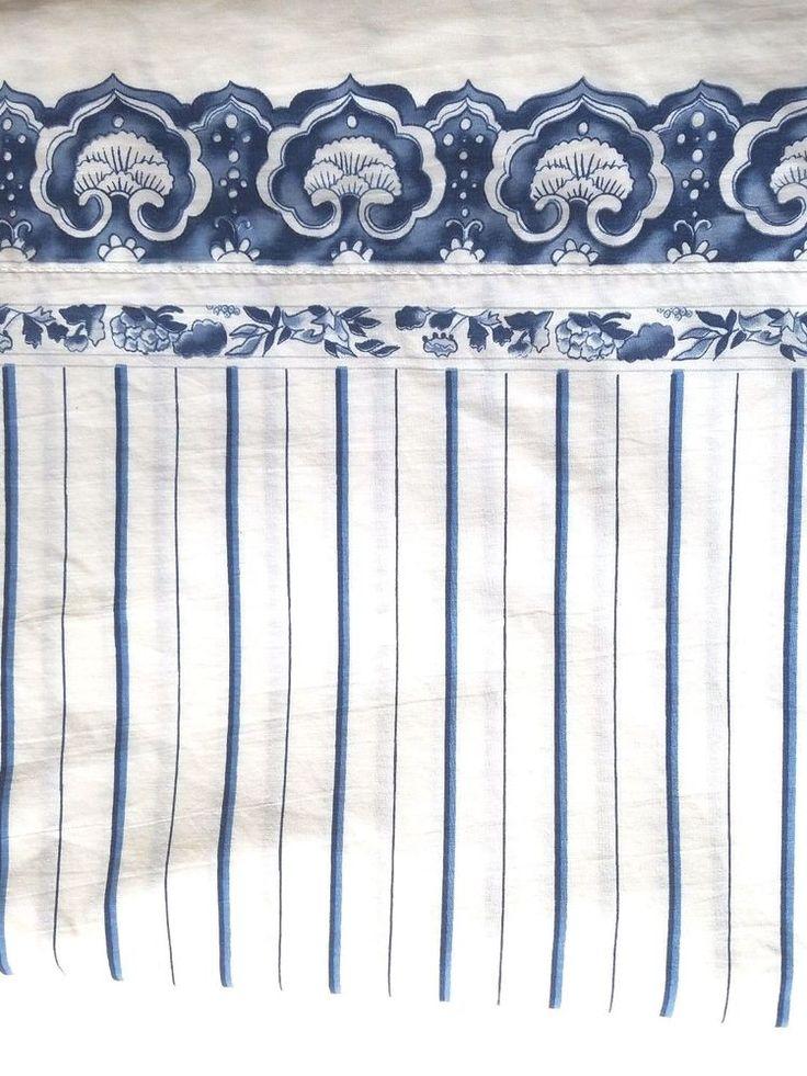 Ralph Lauren Jonquil Porcelain Twin Flat Sheet Blue  #RalphLauren #Asian