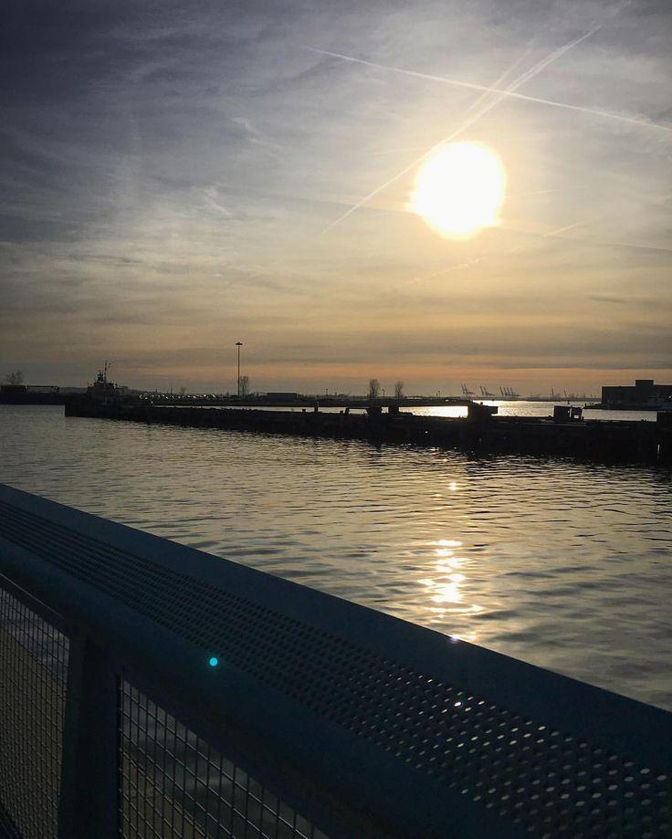Red Hook, Brooklyn sunset