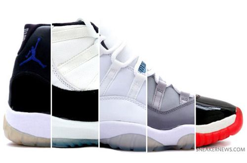 THE GREATEST SHOE EVER THE AIR JORDAN 11'S