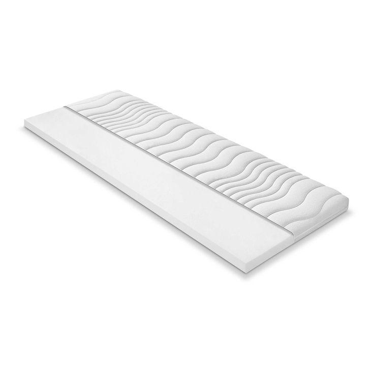 Tom Tailor Weichschaumtopper Nordic Box 180 x 200 cm Weiß Stoff