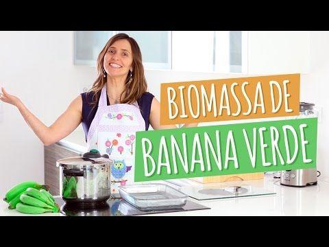 Imagem ilustrativa do vídeo: Como fazer BIOMASSA de Banana Verde
