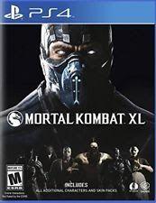 Mortal Kombat XL - PlayStation 4 Standard Edition Ps4 Games Sony Factory Sealed