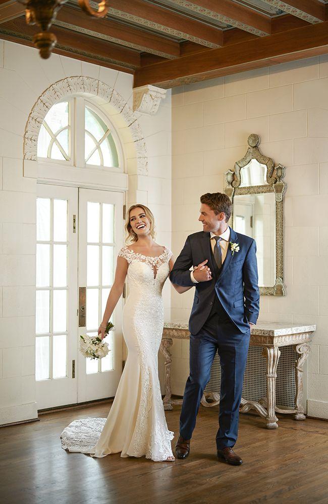 Stella York 7066 Vintage Inspired Lace Wedding Dress Price