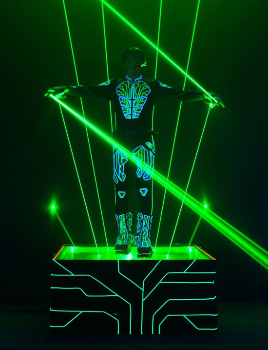 Laserman To Light Up Electronica For Tron Legacy Party At