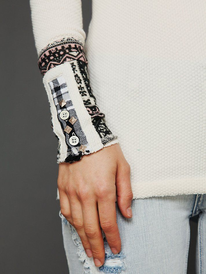 Free People Hippie Cuff Thermal at Free People Clothing Boutique