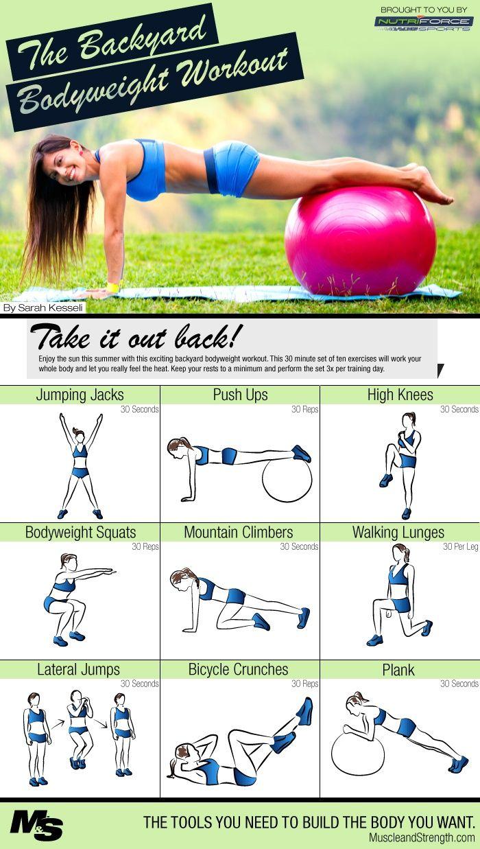 Backyard Bodyweight Workout