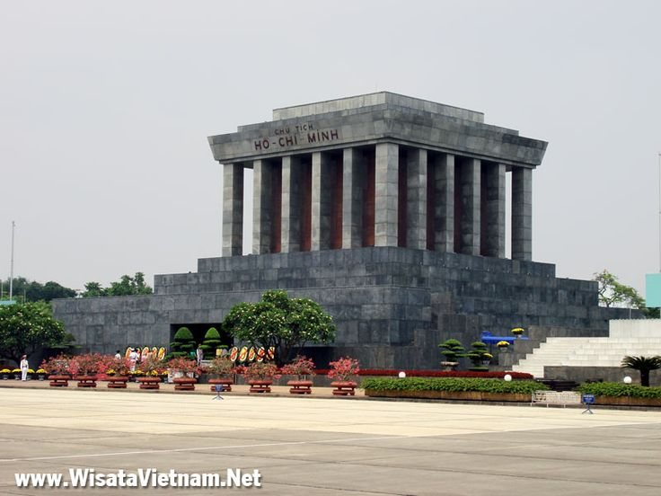 Mausoleum Ho Chi Minh, Hanoi, Vietnam