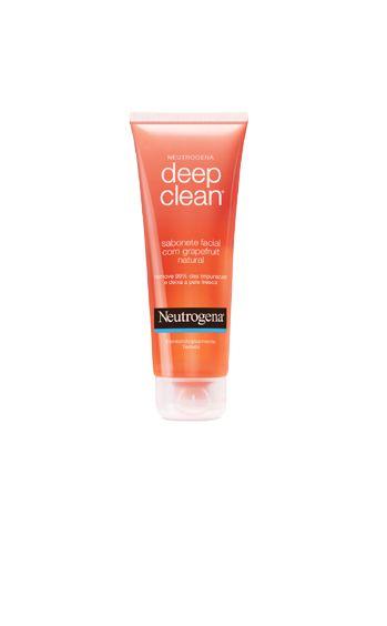 NEUTROGENA® DEEP CLEAN® Grapefruit Sabonete Facial