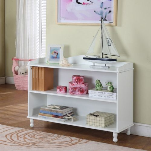 White Bookcase.