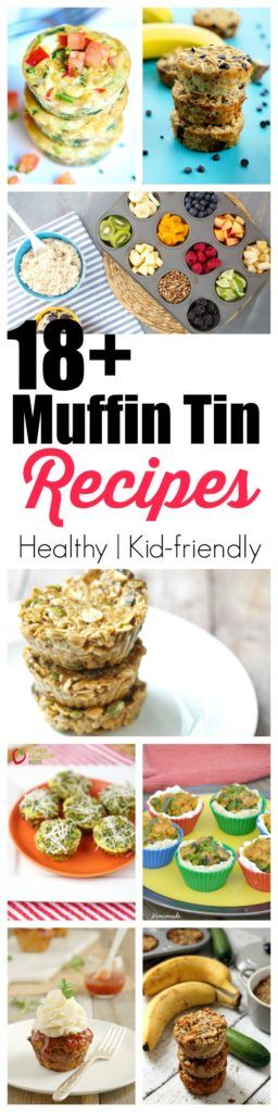 18+ Healthy and delicious recipes you can make in a muffin tin! http://www.superhealthykids.com