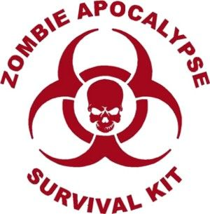 zombie survival kit inside - Google Search
