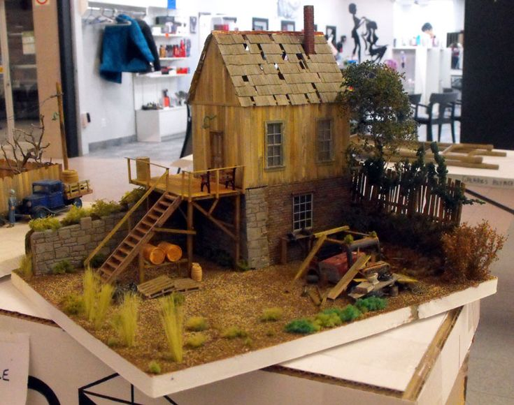 Bill's dioramas have been featured in magazines such as Narrow Gauge Downunder