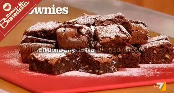 Brownies | la ricetta di Benedetta Parodi