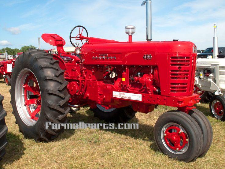 1956 Case Tractor : International harvester farmall