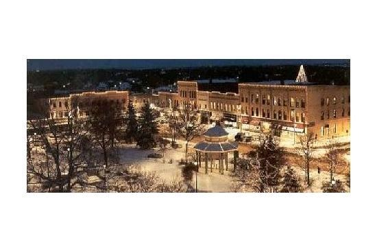 Downtown square in Woodstock, Illinois...will always be a favorite place of mine :)