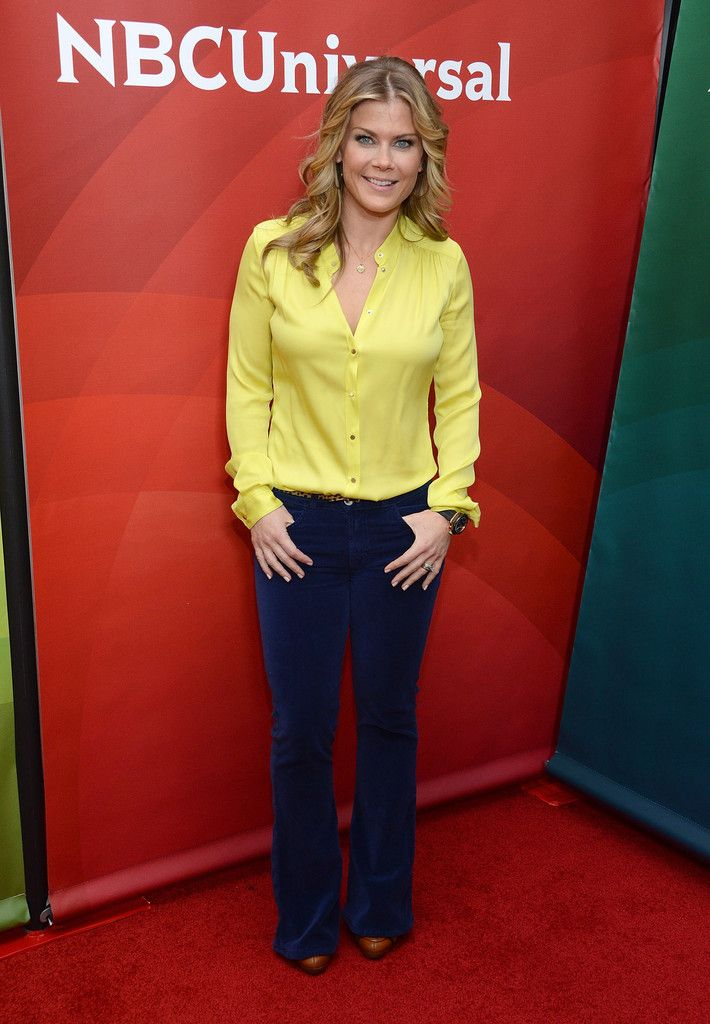 """Alison Sweeney attends NBCUniversal's """"2013 Winter TCA Tour"""" Day 1 at Langham Hotel on January 6, 2013 in Pasadena, California."""
