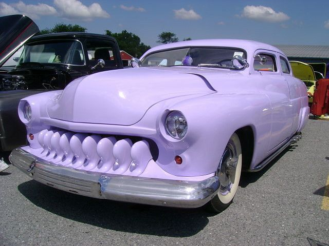 1951 Mercury by splattergraphics, via Flickr PurpleUmpkin and the Murples
