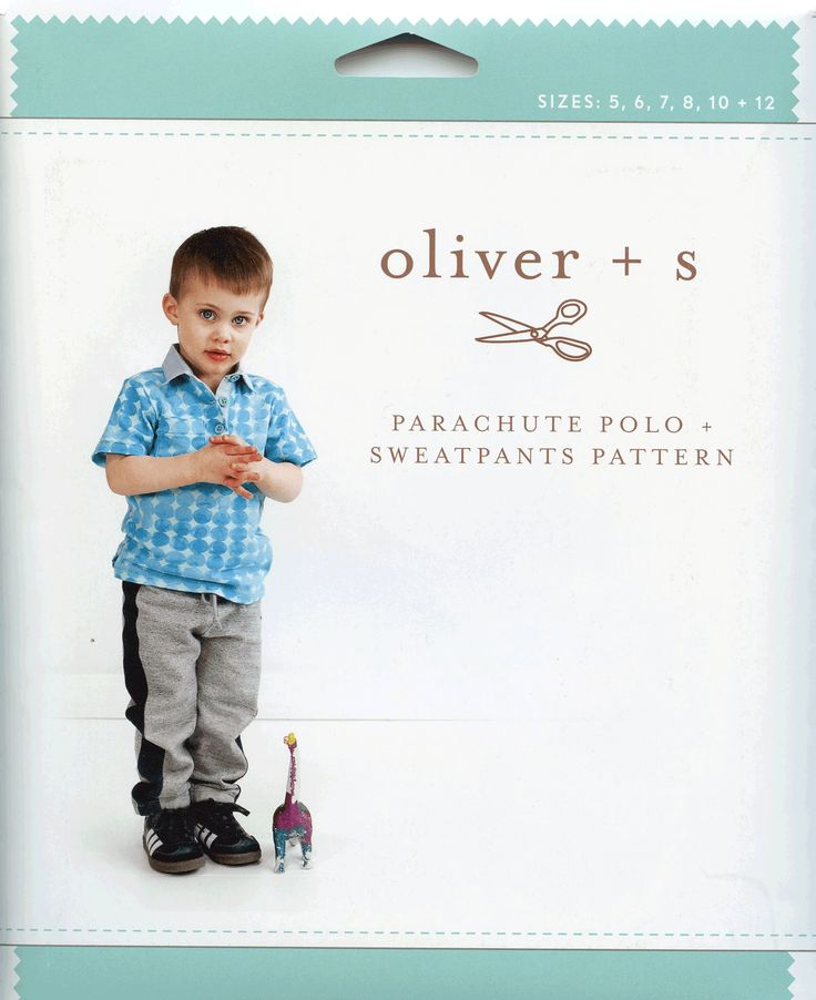 Your little one will look great in the clothes that you make from the Oliver and S Parachute Polo + Sweatpants pattern. This is a new OAS pattern. Shop now.