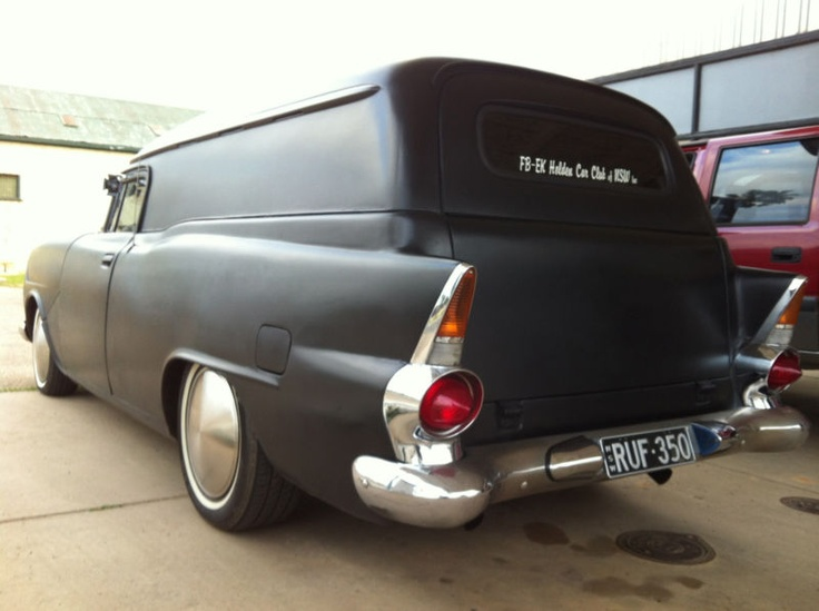 Holden FB Panelvan, 350 Chev,chopped,custom,ratrod,hotr...