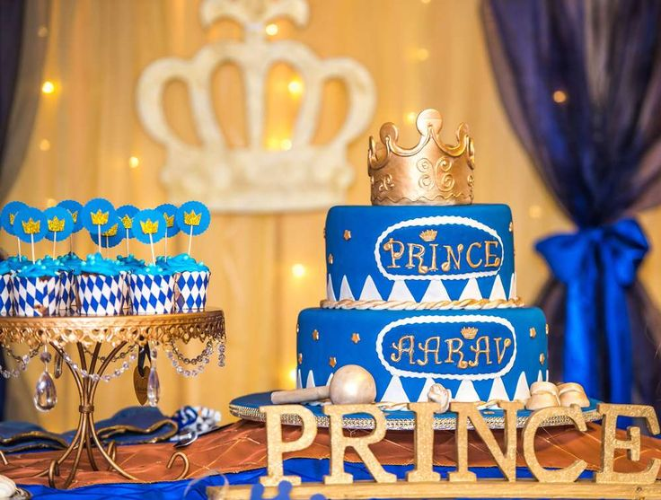 Prince Birthday Party Ideas | Photo 3 of 15 | Catch My Party