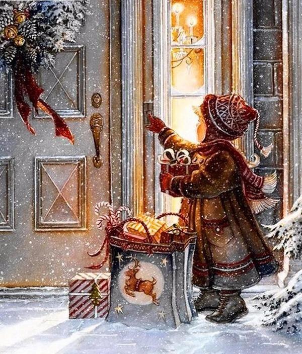поиске рождественская добрая картинка превратится