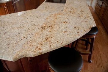 Antique White Granite A Gentle Granite With Gold And Amber