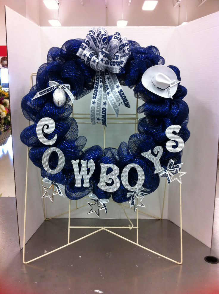 Dallas cowboys wreath 2014 Lisa Peterson
