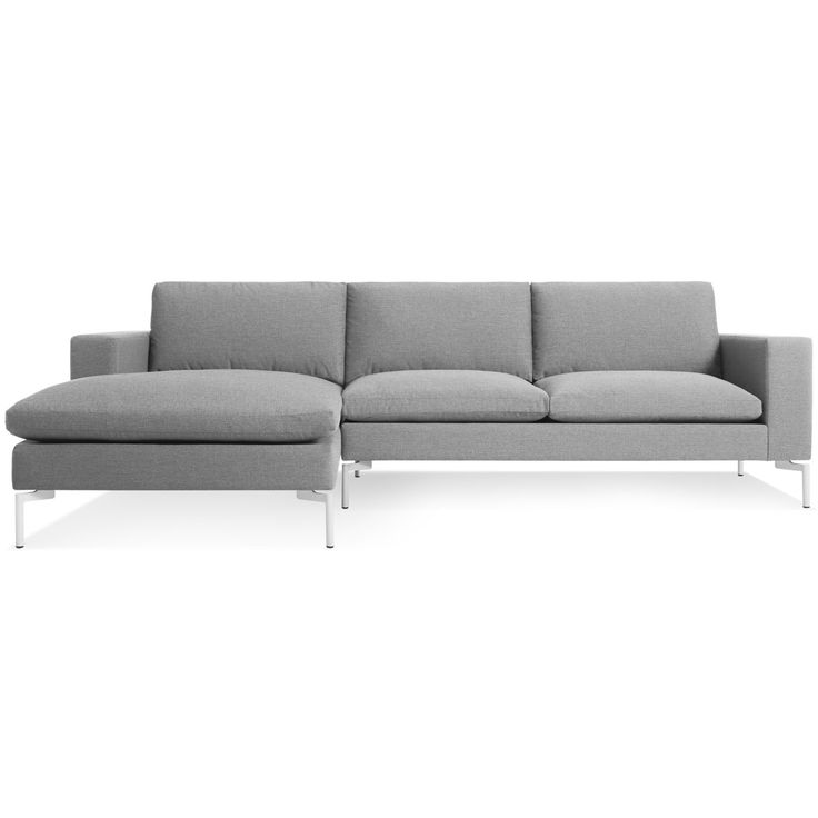 New Standard Sofa w/ Left Arm Chaise - Modern Sofas and Sectionals - BluDot.com