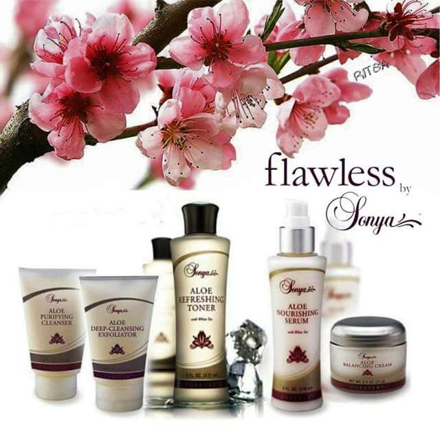 Forever Living Flawless Sonya Skincare   To purchase yours now, see link below  http://gileshampsonglobal.foreverlivingsite.com