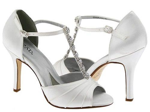 Comfortable Wedding Shoes Ivory