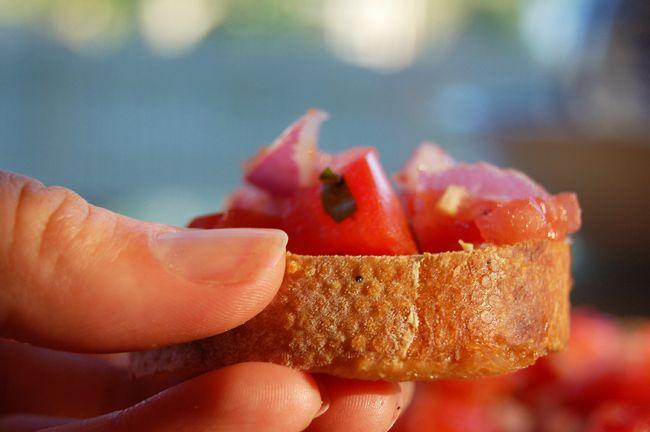 roasted garlic bruschetta | Favorite Recipes | Pinterest