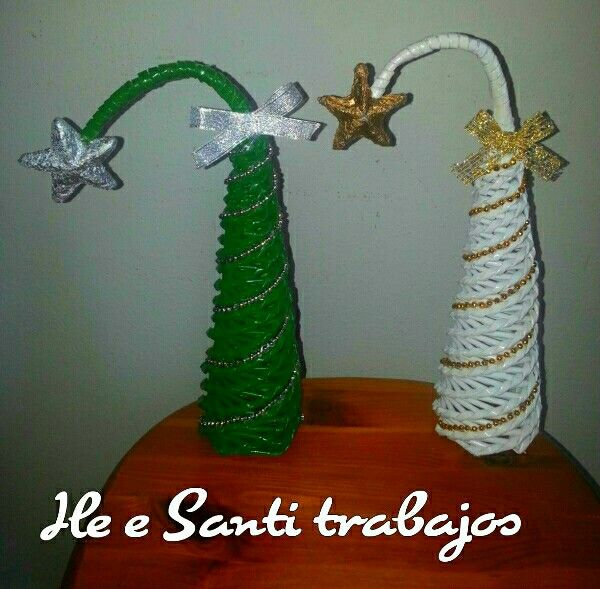Alberelli di Natale bianco e verde by Santino Cossu e Ilenia Pintus