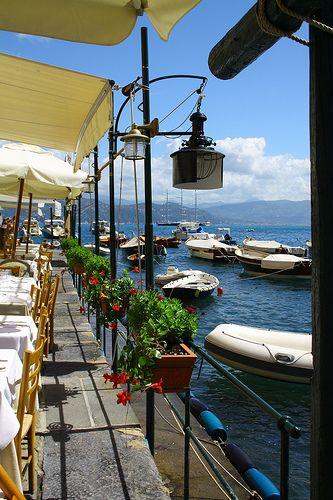 Seaside Restaurant, Portofino, Italy