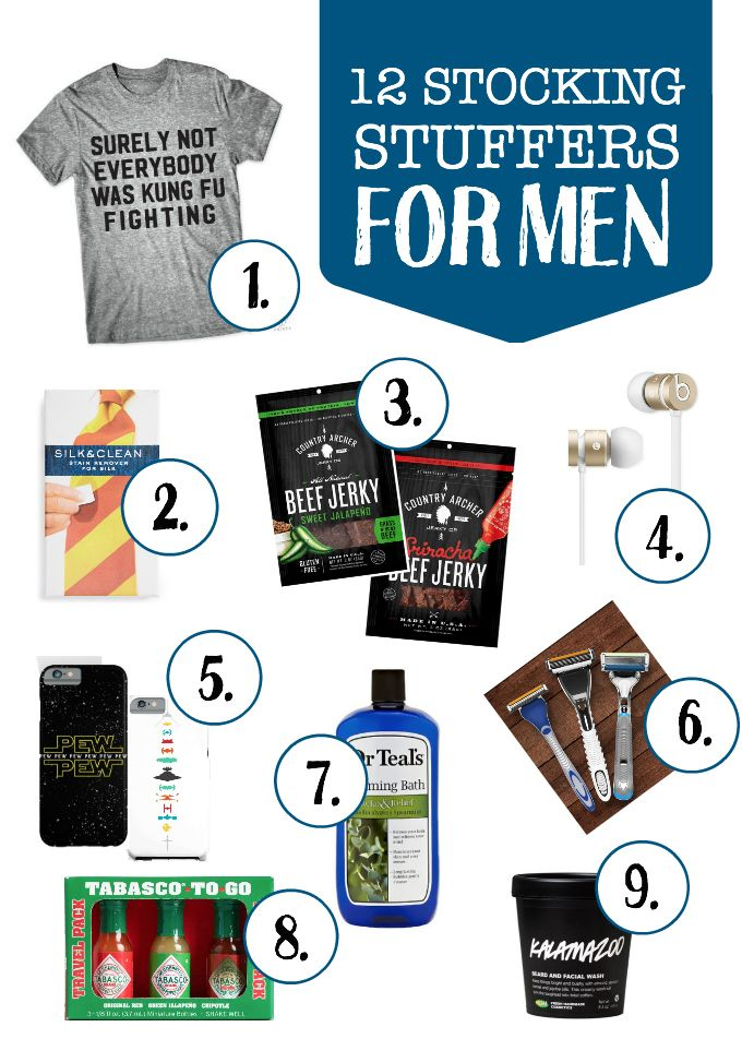 Stocking stuffer ideas for him and her stocking Unique stocking stuffers adults
