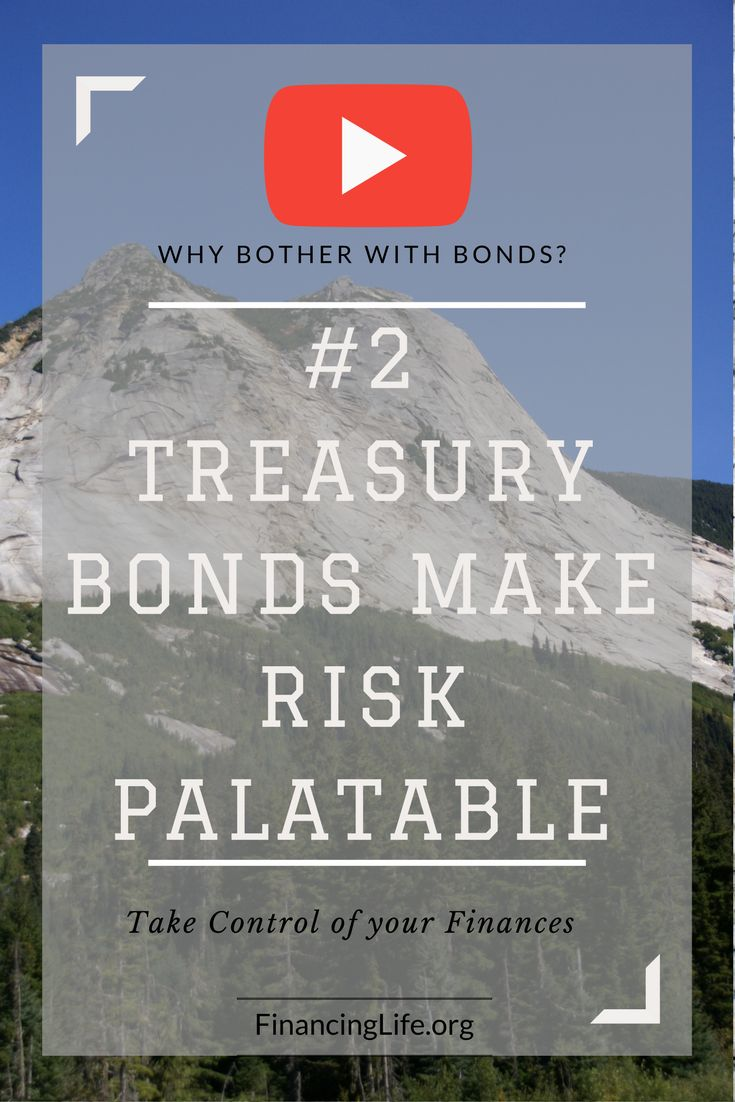 Treasury bonds can make stock market risk more palatable, which is the topic of this second of four short videos that address why CDs, Bonds, and Bond Funds are critical to building an all-weather portfolio—even during low interest rates.