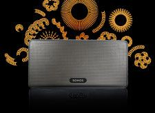 Sonos - a wonderful multi-room music system with a great iPad/iPhone/Android interface for control. Splendid...