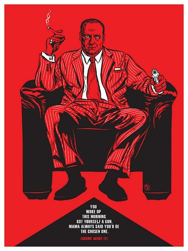 TV: The Sopranos by Christopher Cox | Alternative TV Posters via ShortList Magazine