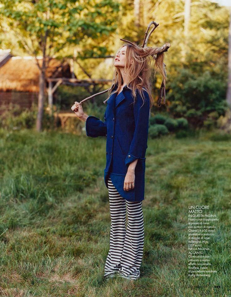 a kind of magic: behati prinsloo by matt jones for elle italia october 2013   visual optimism; fashion editorials, shows, campaigns & more!