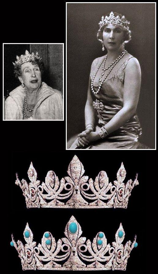 Tiara de la reina Victoria Eugenia de España, realizada por Chaumet.