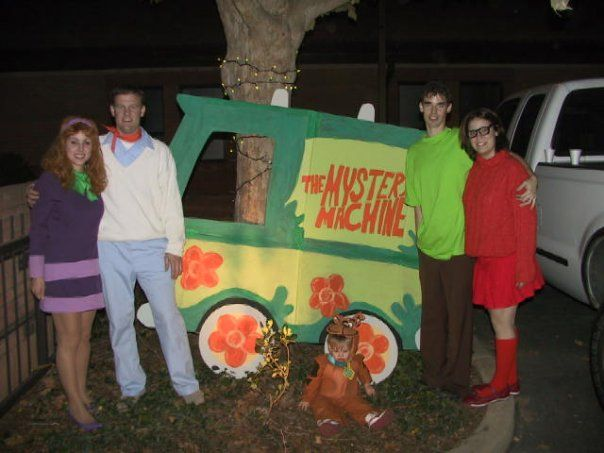take a look at these homemade scooby doo costumes submitted to our annual halloween costume contest youll also find the most amazing photo gallery of - Scooby Doo Halloween Decorations