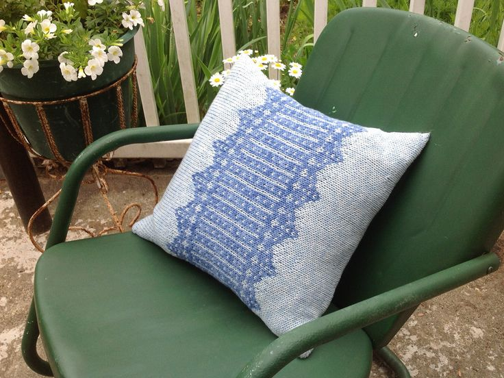 433 best images about Knit Afghans & Pillows on Pinterest Free pattern,...
