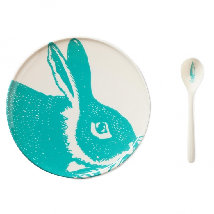 Thomas paul Aqua Bunny Dining Set