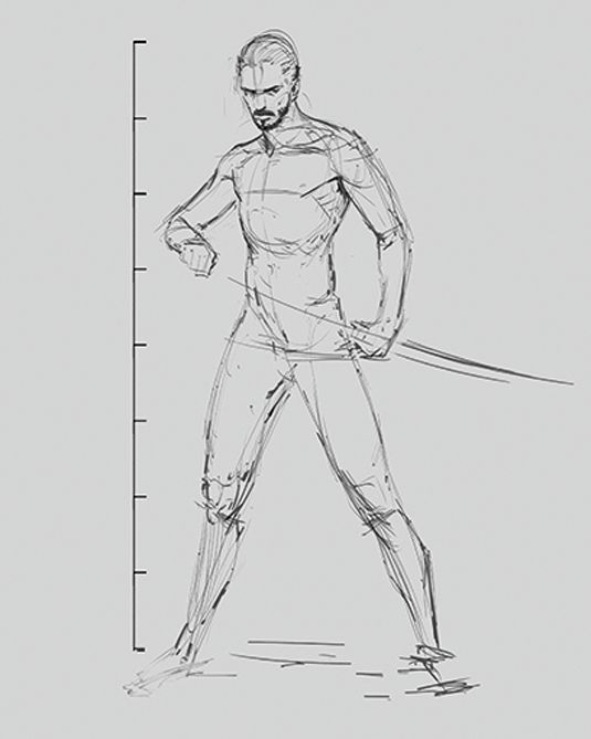 how to draw human figures step by step