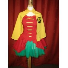 Adult Robin Girl Costume - Robin Tutu  Now I just need a Batman/Bruce Wayne of my very own