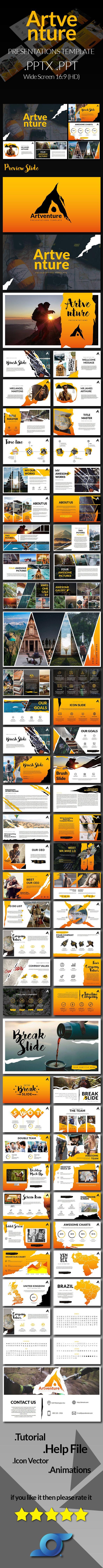Artventure - PowerPoint Presentation Templates